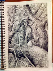 jungle girl by wsxroro1231