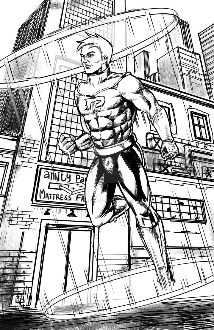 Danny Phantom _ hero mode by aanturnip