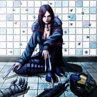 X-23 Laura Kinney by ranzoyart