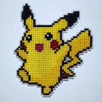 Pikachu by behindthesofa