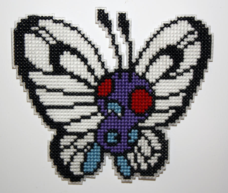 Butterfree by behindthesofa