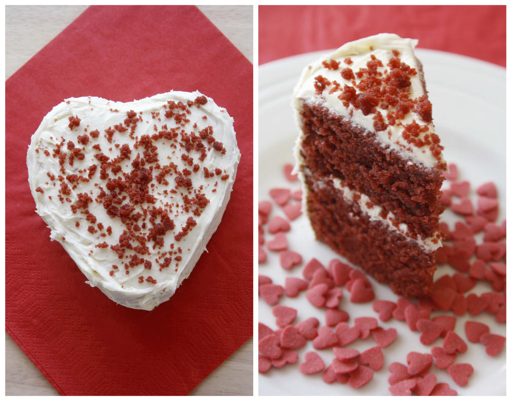 Red Velvet Cake by behindthesofa