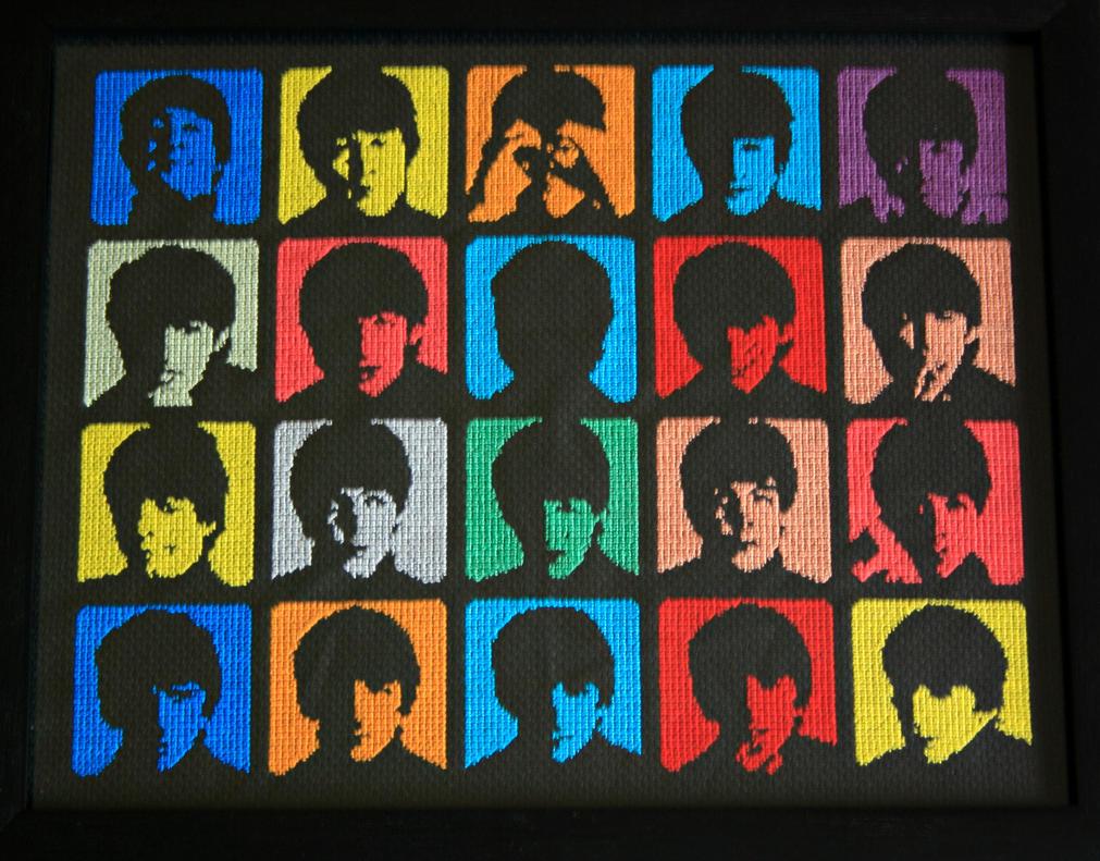 The Beatles by behindthesofa