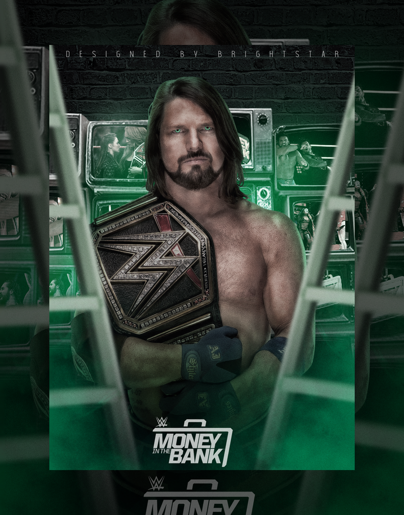 Money in the Bank Poster feat. AJ Styles! by Brightstar2003