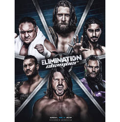 Elimination Chamber'19 Poster by Brightstar2003