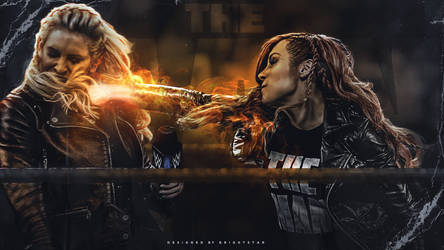 Becky Lynch - Iron Fist by Brightstar2003
