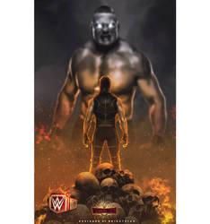 Beast x Beast Slayer - Wrestlemania by Brightstar2003