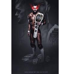 Finn Balor - IC Champ by Brightstar2003