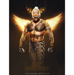 Rey Mysterio - Phoenix Rising by Brightstar2003