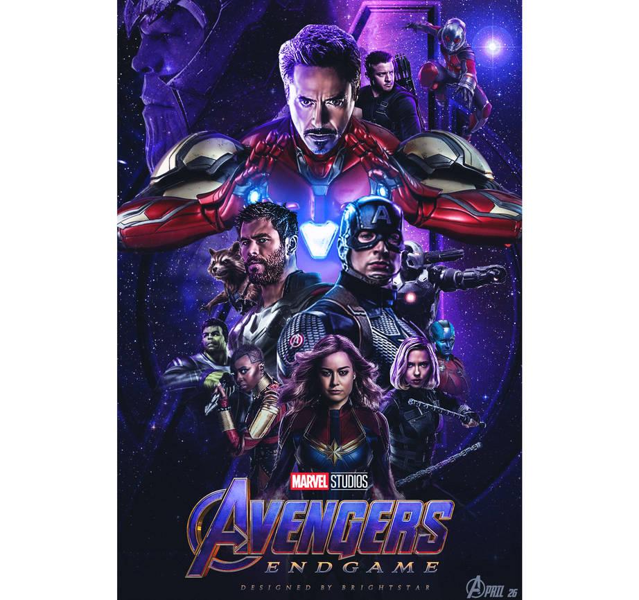 Avengers Endgame Poster by Brightstar2003