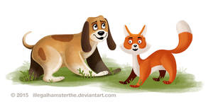 Disney challenge - The Fox and the Hound by IllegalHamsterThe