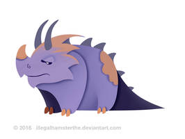 Dino by IllegalHamsterThe
