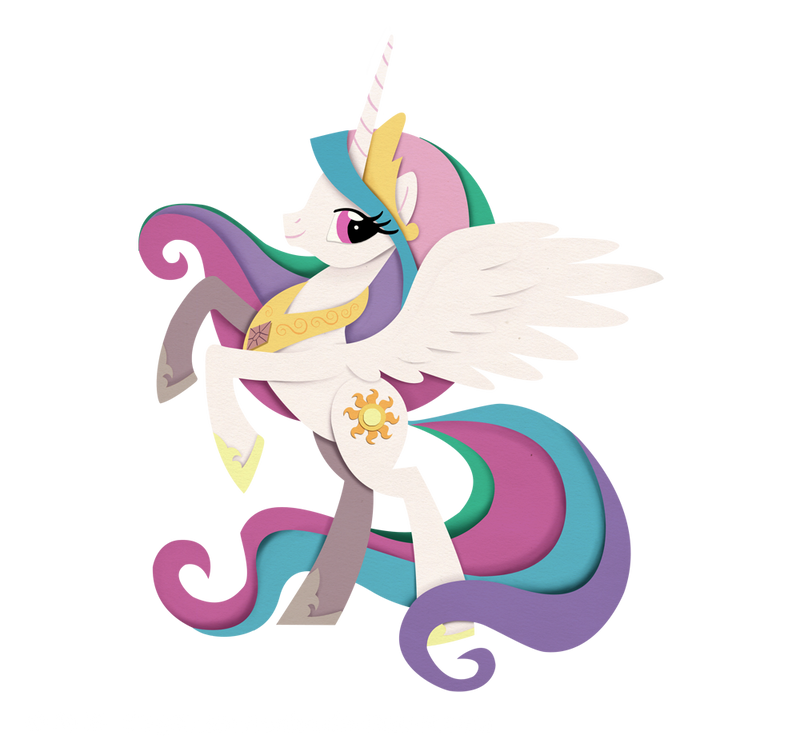 Princess Celestia by IllegalHamsterThe