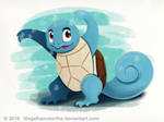 Squirtle by IllegalHamsterThe