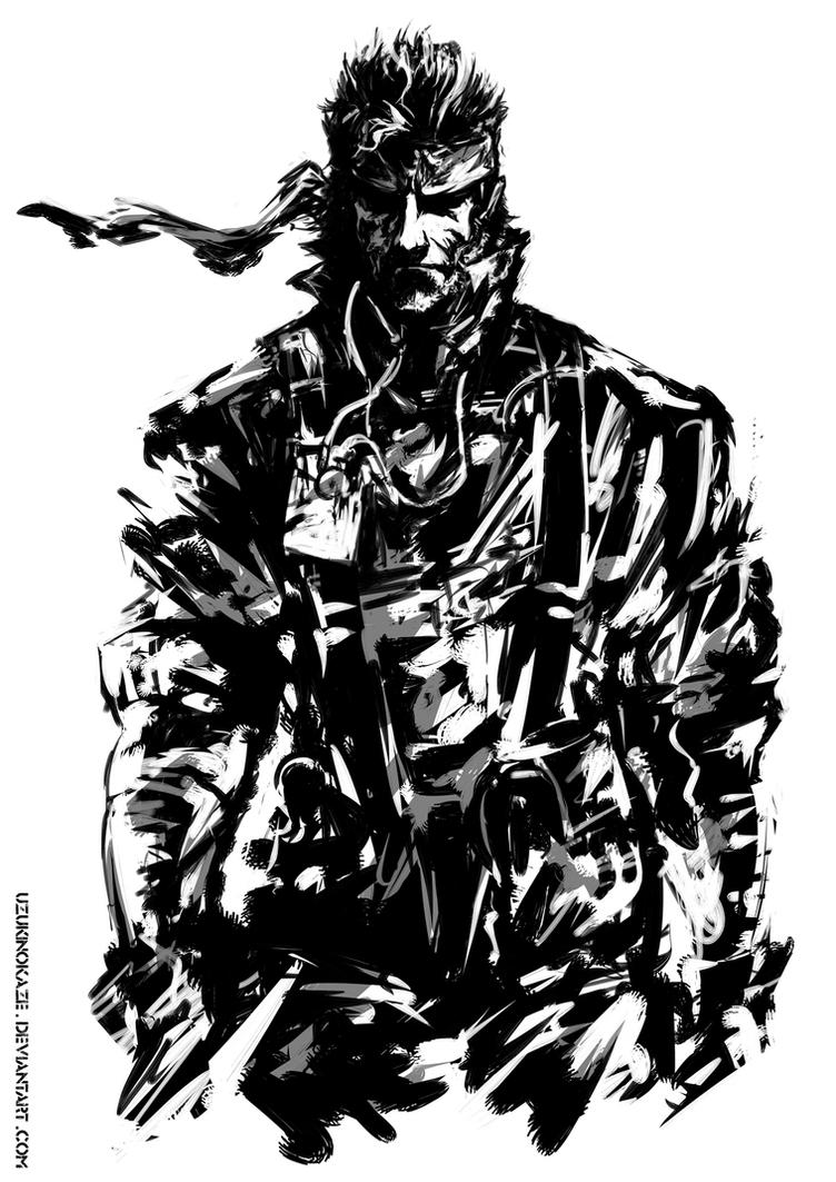 Naked Snake by UzukiNoKaze