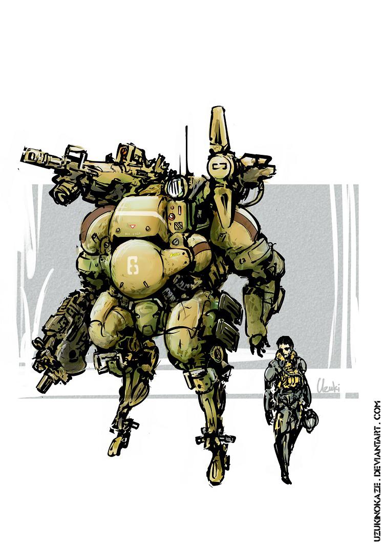 Mech 1 by UzukiNoKaze