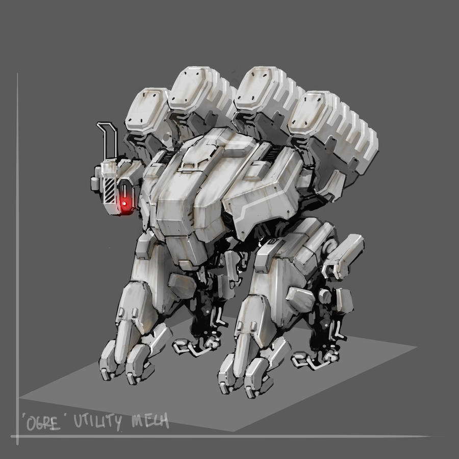 Ogre -  Utility Mech by UzukiNoKaze