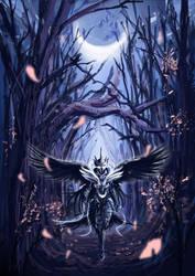 Luna, Princess of the Night by UzukiNoKaze