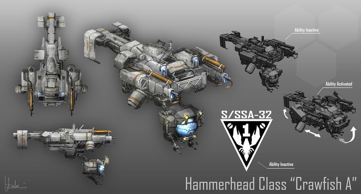 01 Hammerhead Class by UzukiNoKaze