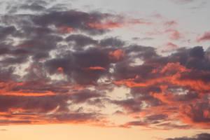 Sunset Clouds 1 by gnu2000
