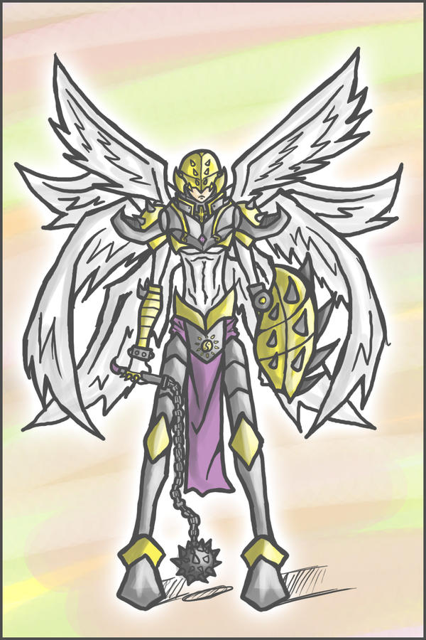 Shakkoumon: The Armoured Angel by Kiarou on DeviantArt