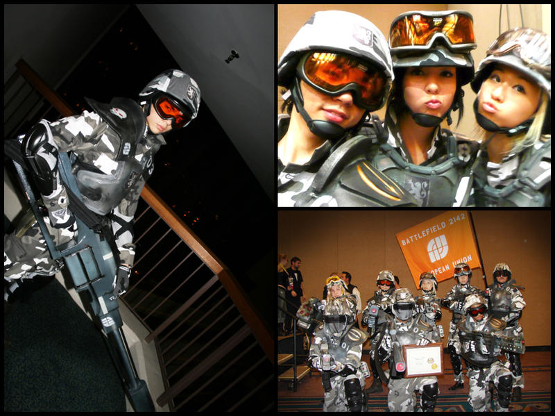 Battlefield 2142 Cosplay by Kiarou