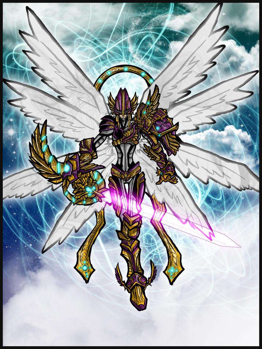magna angemon gateway to hope by kiarou on deviantart