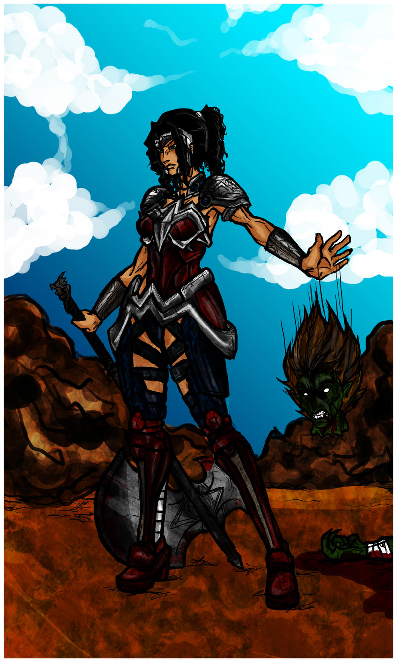 Wonder Woman: Champion of Themyscira by Kiarou