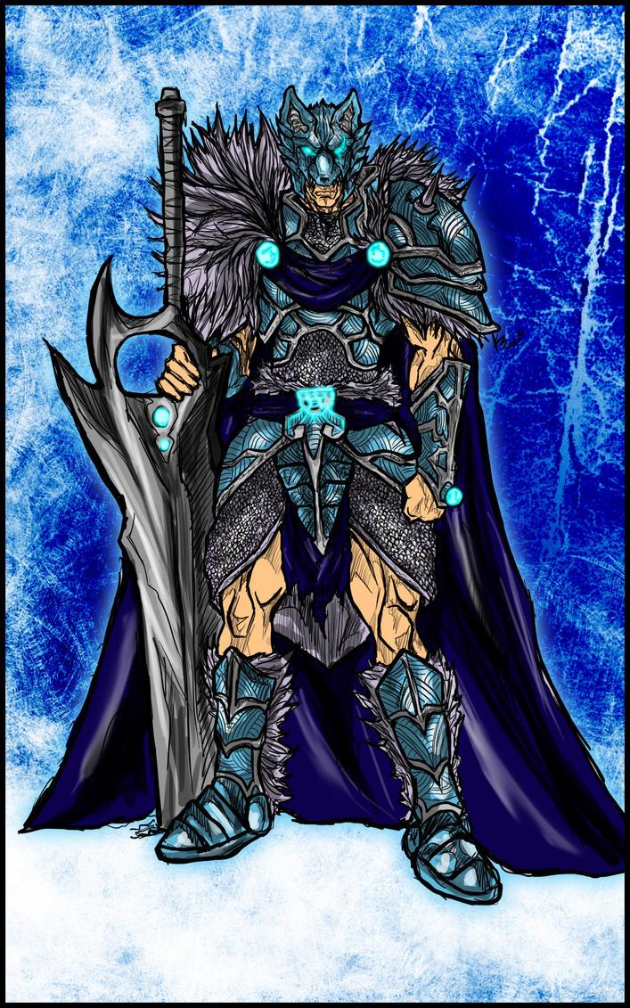 Commission: Beowolfmon by Kiarou