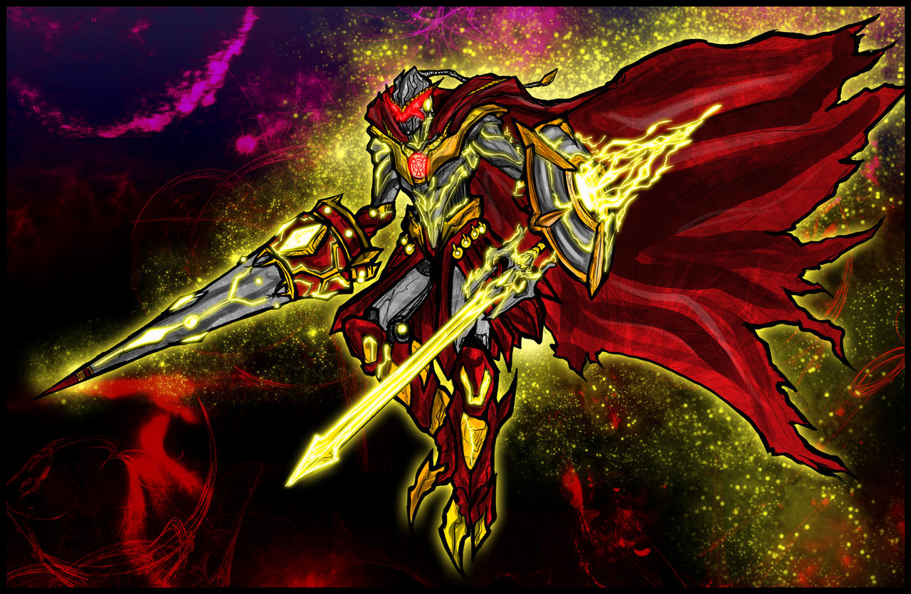 Examon Gawain: The Crimson Sun by Kiarou on DeviantArt