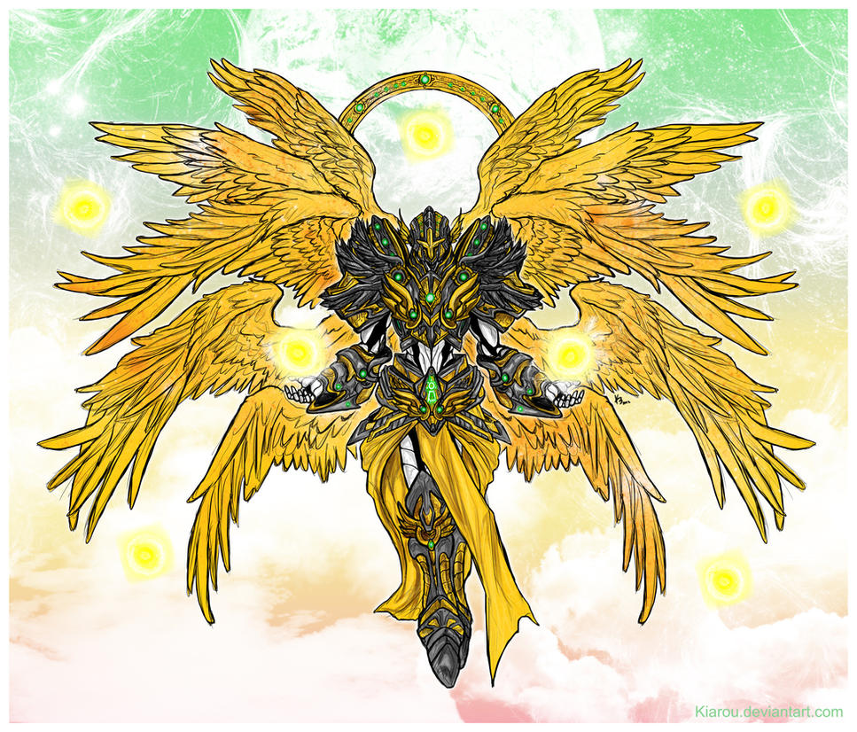 Seraphimon: The Shinning Star of Hope by Kiarou