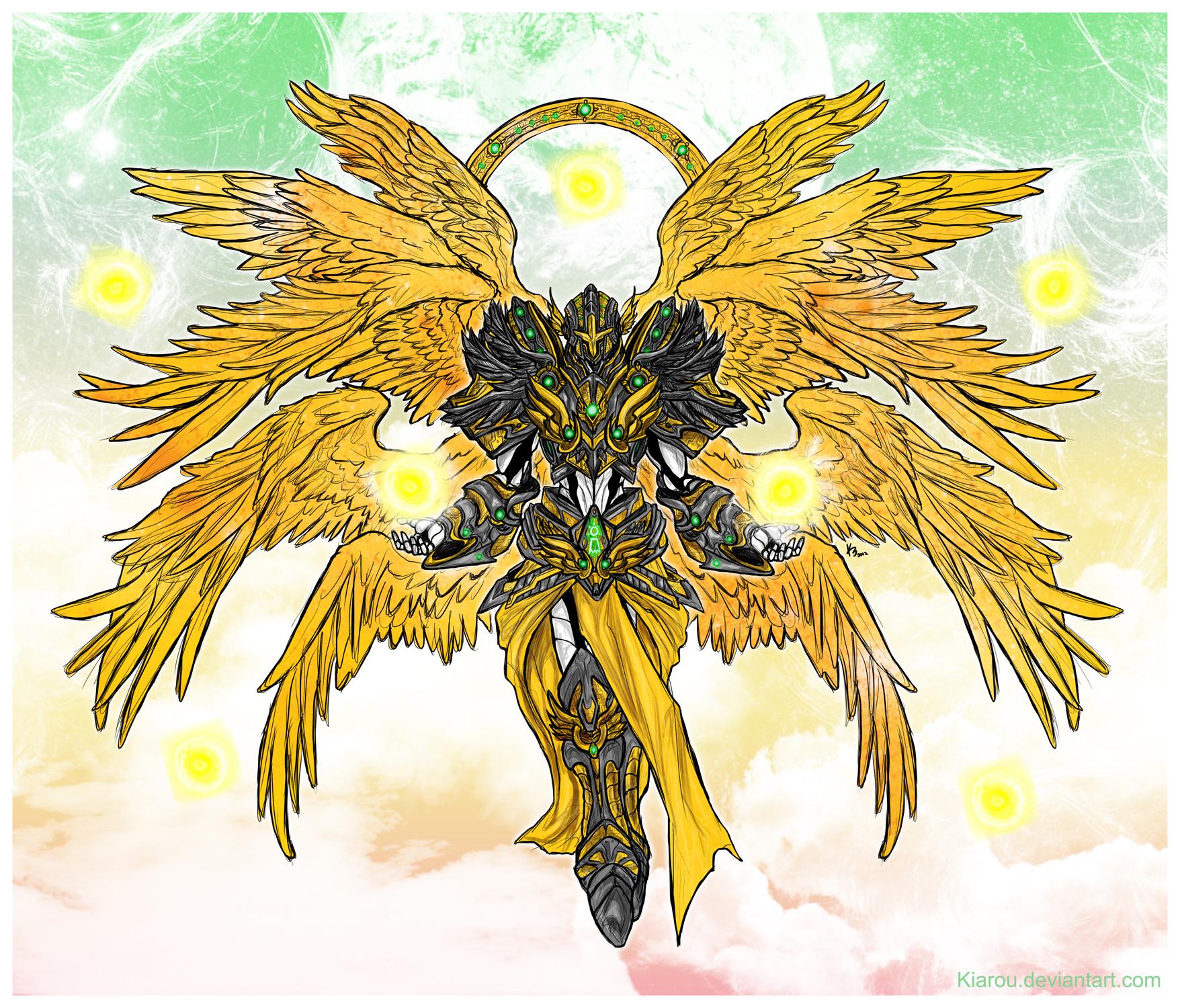 Seraphimon Wallpaper Seraphimon: The Shinni...