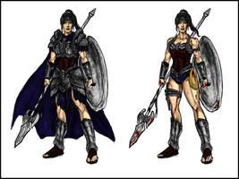 Wonder Woman: Amazonian Might (Antje Traue) by Kiarou