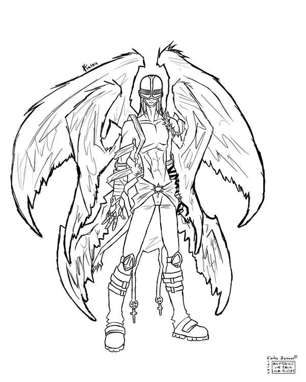 new digimon coloring pages - photo#34
