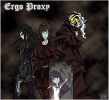 Ergo Proxy: The Proxy of Death by Kiarou