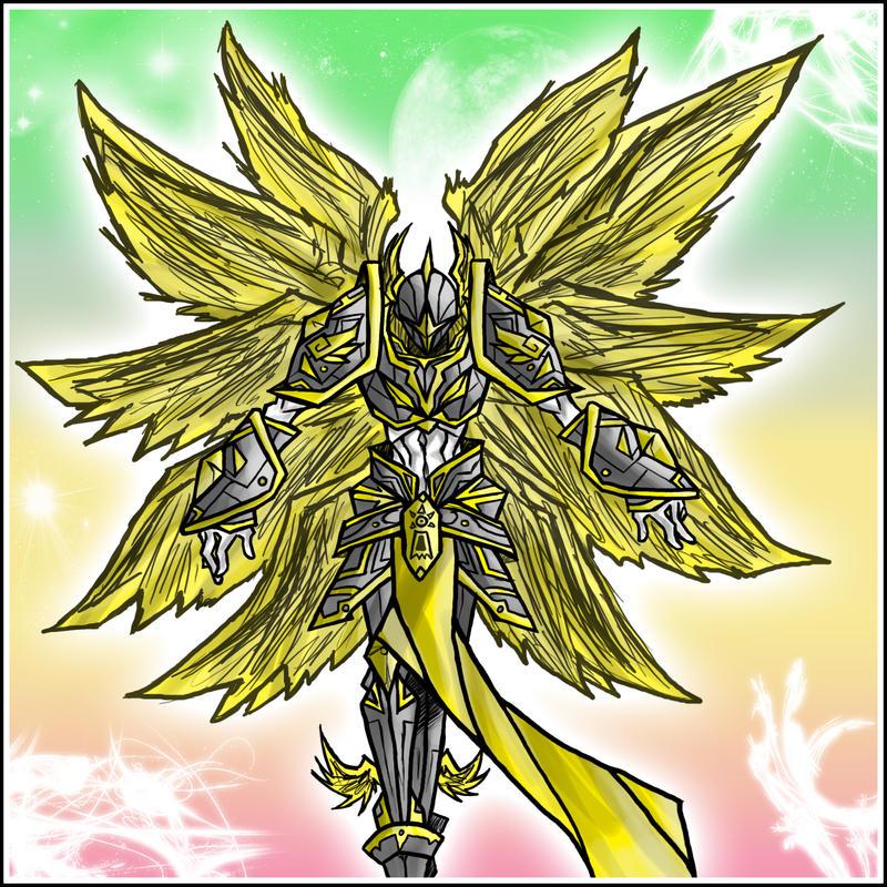 Seraphimon Wallpaper Seraphimon: Warrior of...