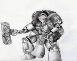 Grey Knight Terminator by Kanatou