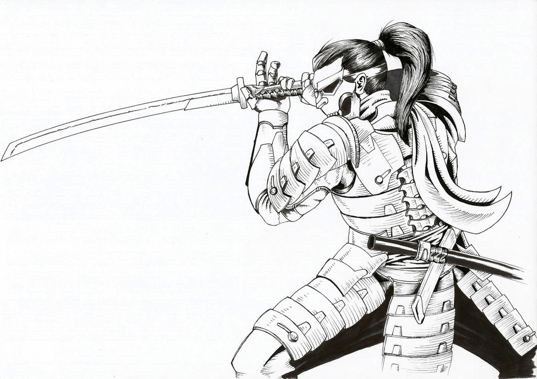 Samurai by Kanatou