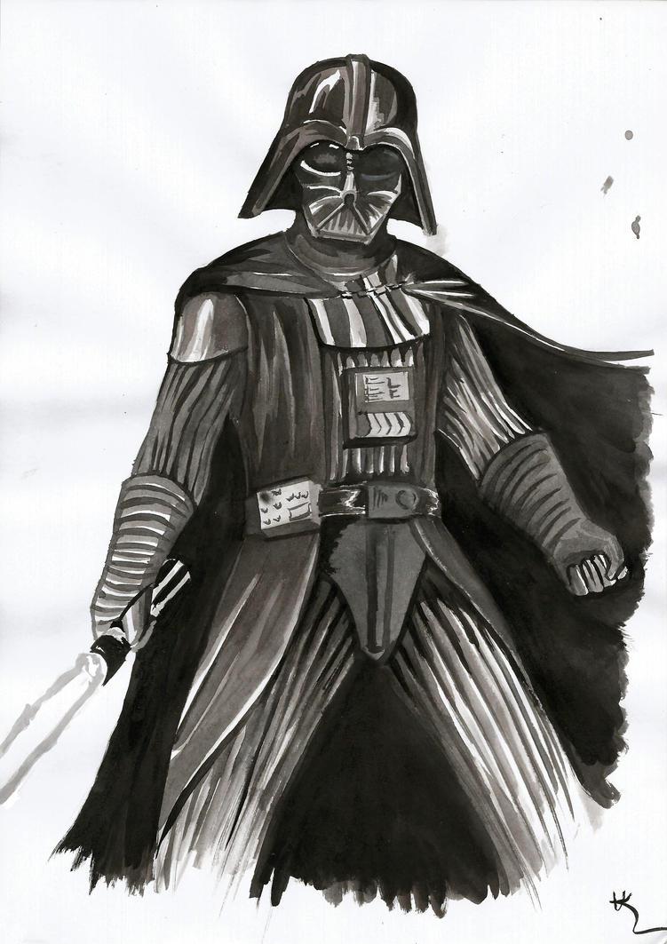 Darth Vader Ink by Kanatou