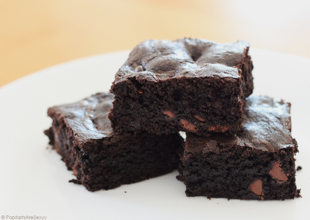Dark Chocolate Brownies by PoptartsAreSexyy