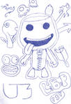 LBP Sack Boy and Stickers