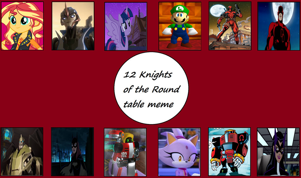 12 Knights Of The Round Table.Rizo2612 Studios 12 Knights Of The Round Table By Rizo2612studios