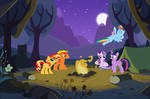 The Kind of Camping Trip with Ponies