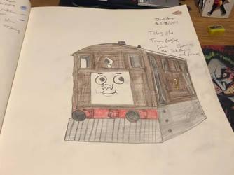Rizo2612 Studios' Toby the Tram Engine Drawing by Rizo2612Studios