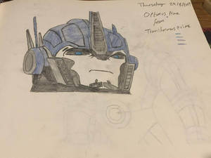 Rizo2612 Studios' Optimus Prime Drawing