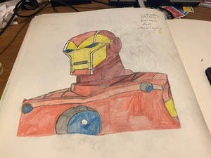 Rizo2612 Studios' Iron Man Drawing 2