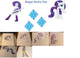Happy Rarity Day Collage by Rizo2612Studios