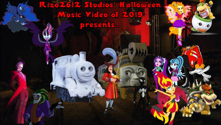 Rizo2612 Studios' Halloween Music Video 2019 Logo