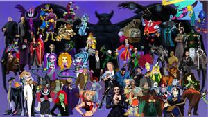 Rizo2612 Studios' Top 70 Main Favourite Villains by Rizo2612Studios