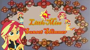 Rizo2612 Studios' Little Miss Sunset Shimmer by Rizo2612Studios
